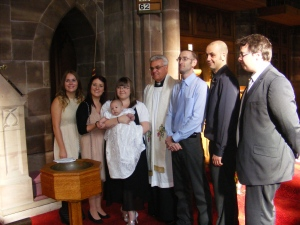 Parents, Godparents and Minister