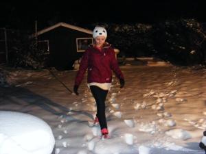 Kristen in Snow