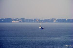 Weston-super-Mare across the bay
