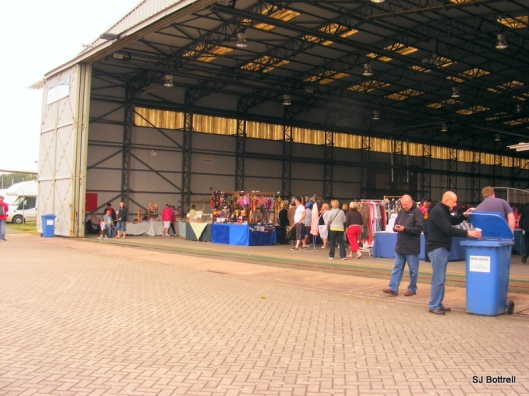 Craft Fair Inside Hanger