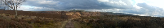 Panorama of Sherbrook Valley
