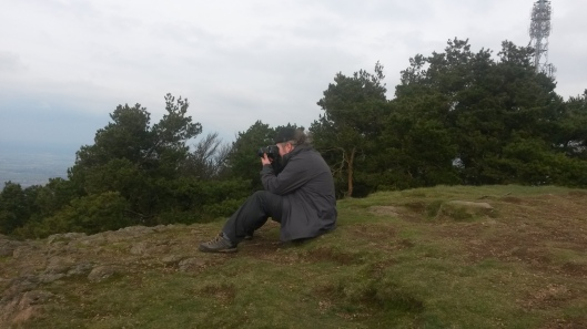 Me taking photographs as usual.